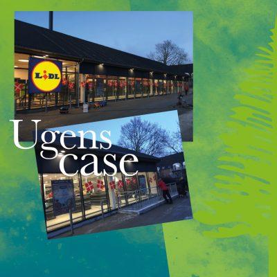 Design af skilte til facade til LiDL. Case