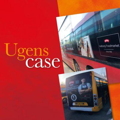 Design af busreklame. Case Klæbel