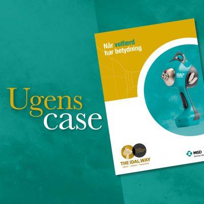 Case design brochure MSD Klæbel